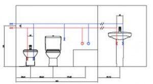 Instalación nueva de agua y desagüe, planos-de-fontaneria, instalacion-nueva-de-fontaneria